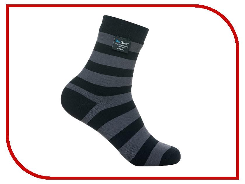 Носки Dexshell Ultralite Bamboo DS643 Black Grey Stripe M 39-42 dexshell детские водонепроницаемые носки children socks