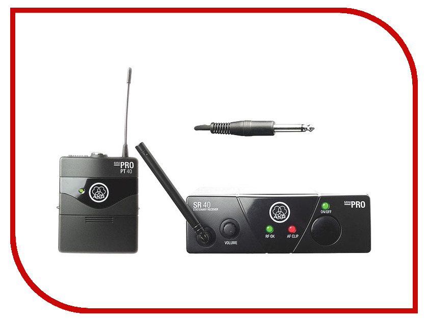 Радиосистема AKG WMS40 Mini Instrumental Set Band US45C - радиосистема радиосистема alesis miclink wireless