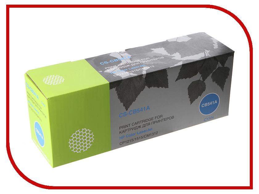 Картридж Cactus CS-CB541A Cyan for HP Color LJ CP1215/1515/CM1312<br>