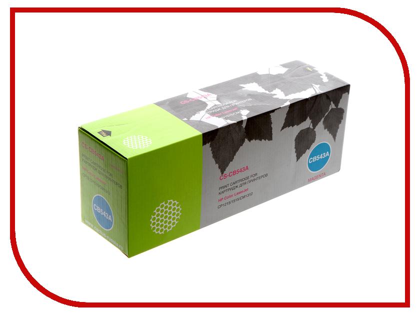 Картридж Cactus CS-CB543A Magenta для HP Color LJ CP1215/1515/CM1312<br>