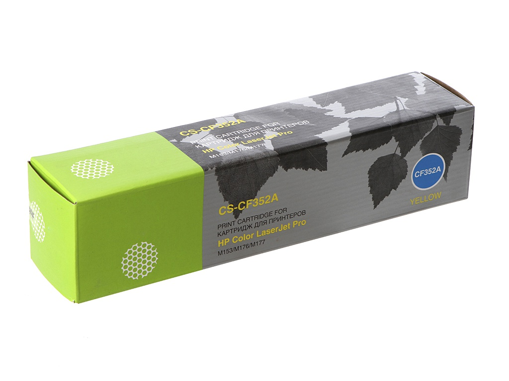 купить Картридж Cactus CS-CF352A Yellow для HP M176/M177 по цене 750 рублей