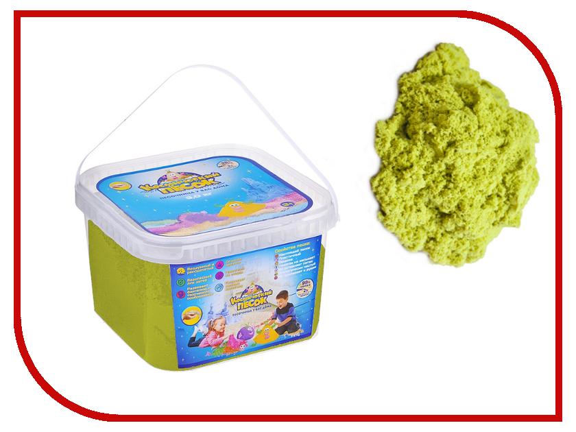 Набор для лепки Космический песок 3кг Yellow<br>