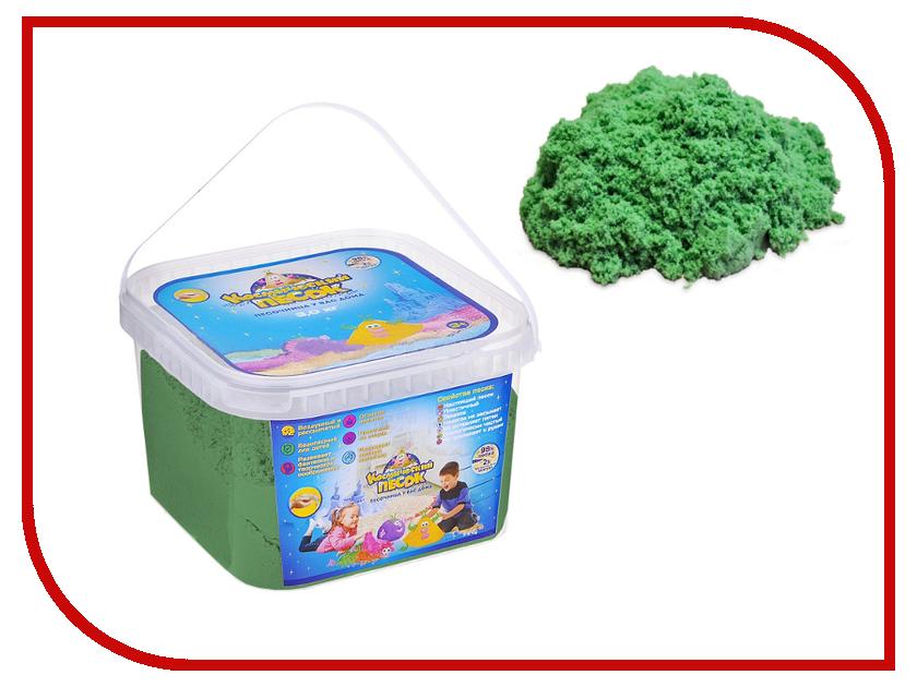 Набор для лепки Космический песок 3кг Green