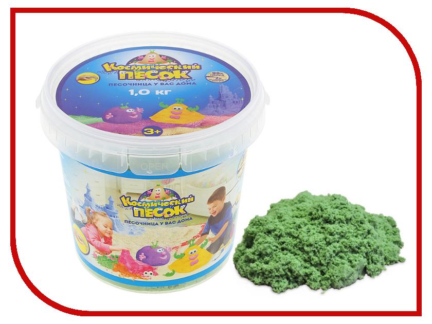 Набор для лепки Космический песок 1кг Green<br>
