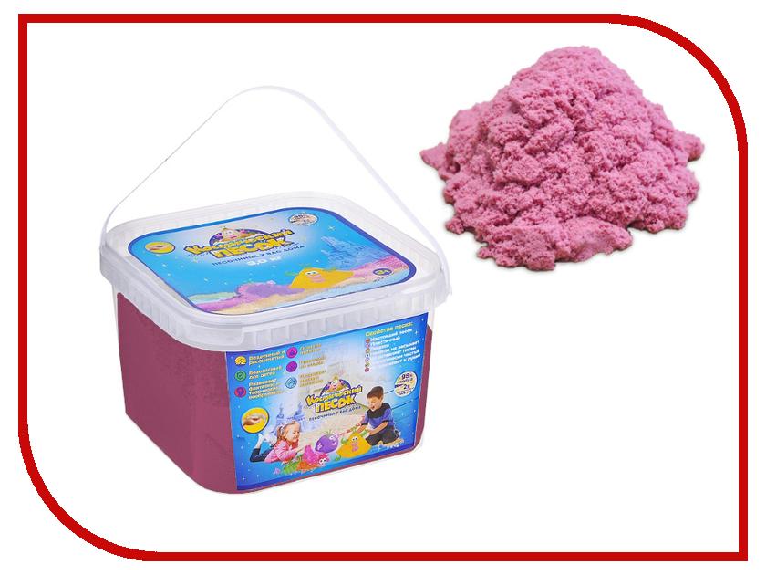 Набор для лепки Космический песок 3кг Pink<br>