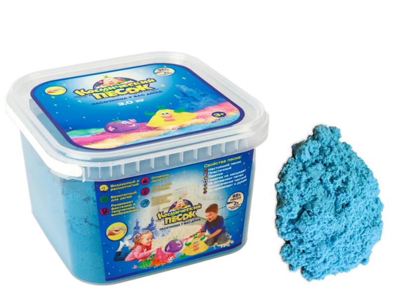 Живой песок Космический песок 3кг Blue<br>