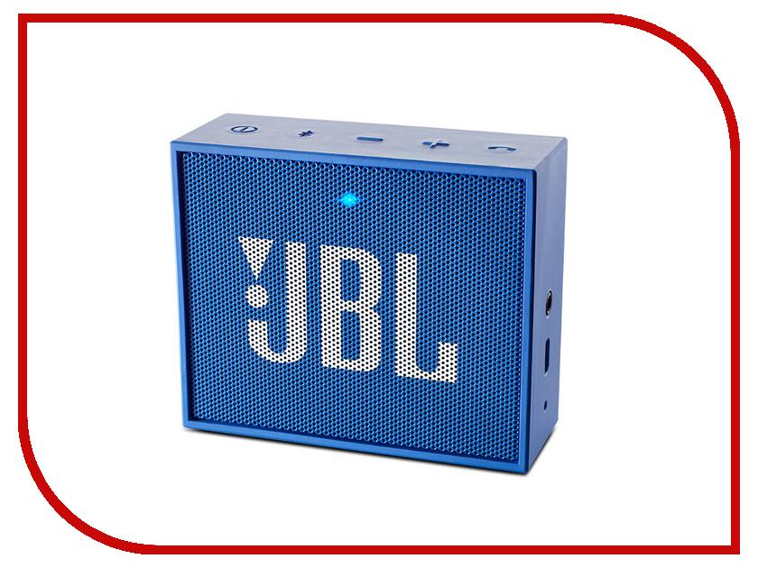 Колонка JBL Go Blue гарнитура jbl e55bt белый jble55btwht