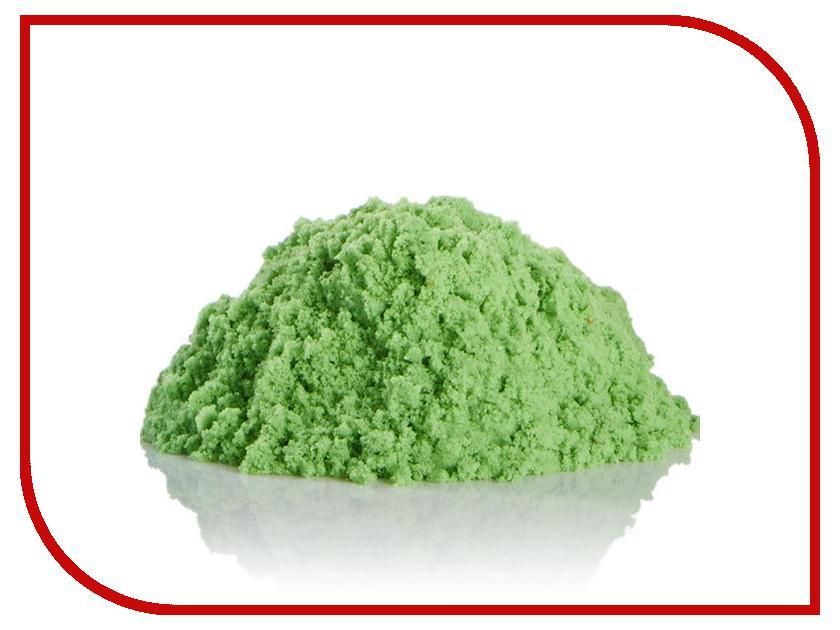 Набор для лепки Космический песок Песочница+Формочки 3кг Green