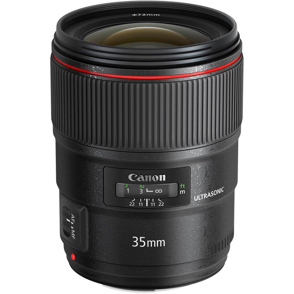 Объектив Canon EF 35 mm f/1.4 L II USM объектив canon ef 180mm f 3 5l macro usm