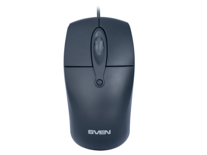 Мышь проводная Sven RX-160 SV-03200160UB Black USB<br>