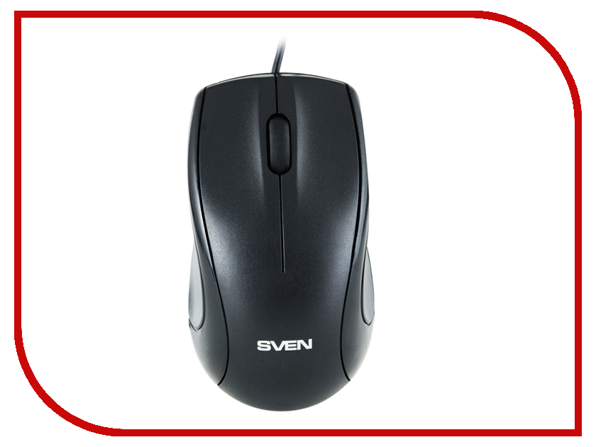 Мышь Sven RX-150 Black USB SV-03200150UB ð¼ñ‹ñˆñŒ sven rx 345 wireless red