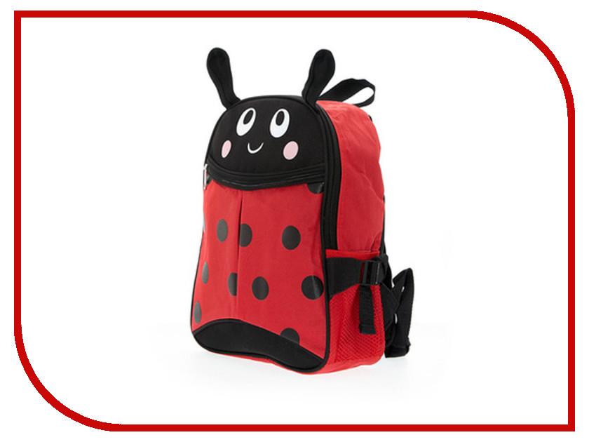 Рюкзак 3D Bags Божья коровка Black-Red 3DHM266