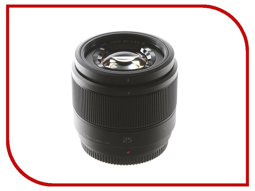 Объектив Panasonic 25 mm А/1.7 G Aspherical H-H025 Black*