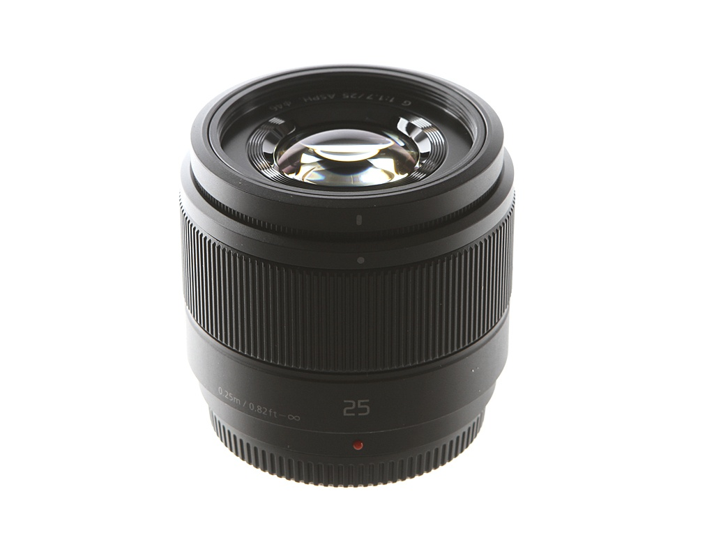 Объектив Panasonic 25 mm А/1.7 G Aspherical H-H025 Black* все цены