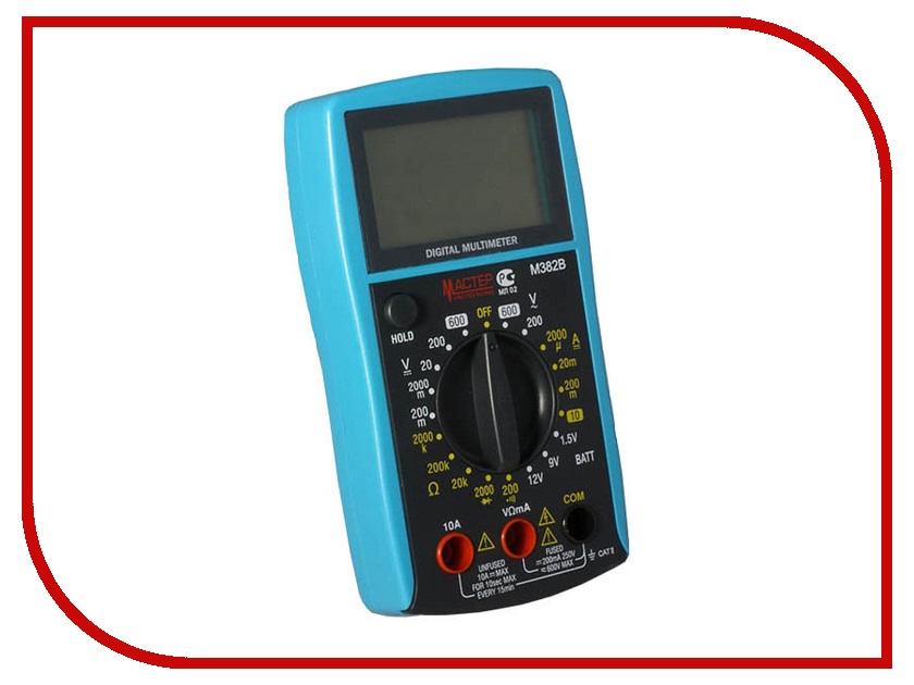 Мультиметр Мастер Professional M382B