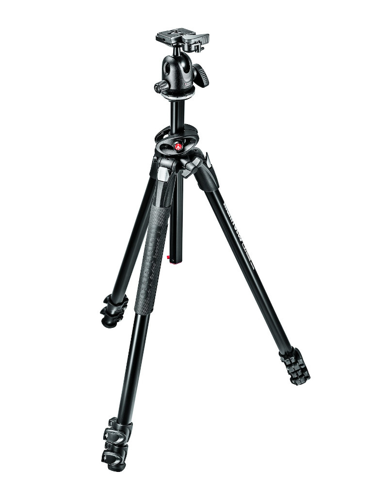 Штатив Manfrotto MK290DUA3-BH штатив manfrotto element traveller red mkeles5rd bh