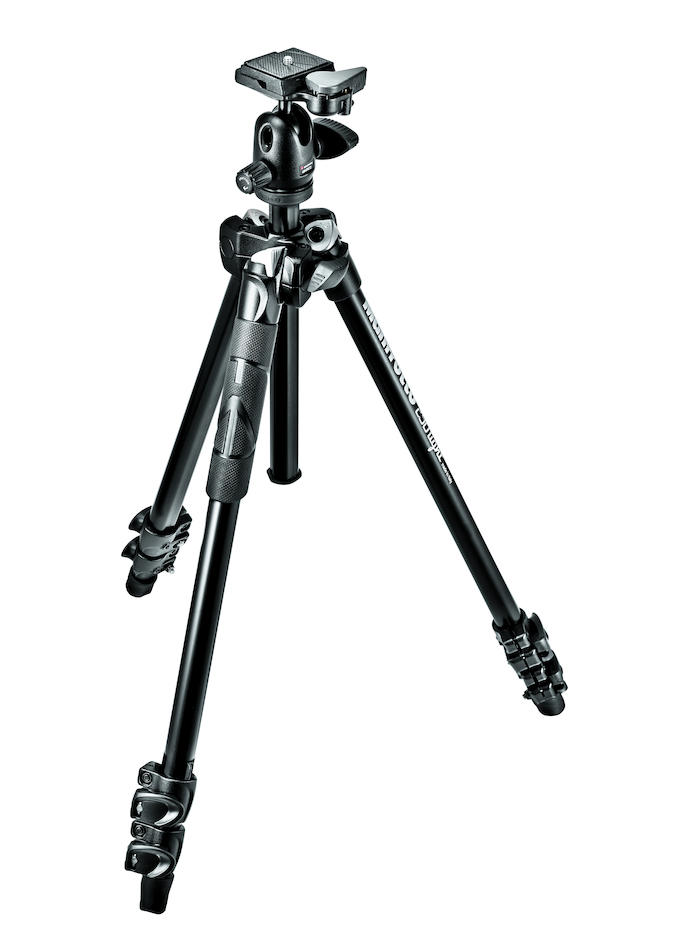 Штатив Manfrotto MK290LTA3-BH штатив manfrotto element traveller red mkeles5rd bh