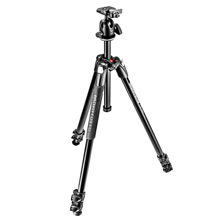 Штатив Manfrotto MK290XTA3-BH штатив manfrotto element traveller red mkeles5rd bh