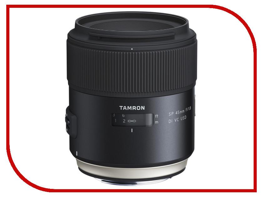 Объектив Tamron Nikon SP AF 45 mm F/1.8 Di VC USD объектив для фотоаппарата tamron объектив sp af 90мм f 2 8 di макро vc usd для nikon f017n
