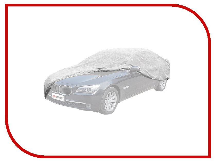 Тент AutoStandart 102101 Silver размер M - для автомобиля