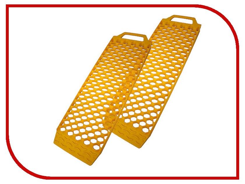 Цепи противоскольжения AutoStandart 108680 Yellow - Траки антипробусковочные