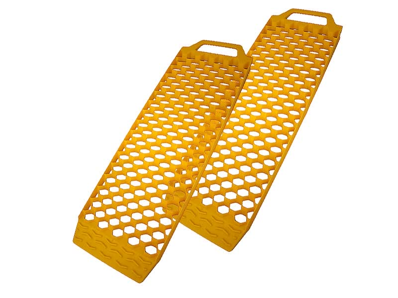 Аксессуар AutoStandart 108680 Yellow - Траки антипробусковочные<br>