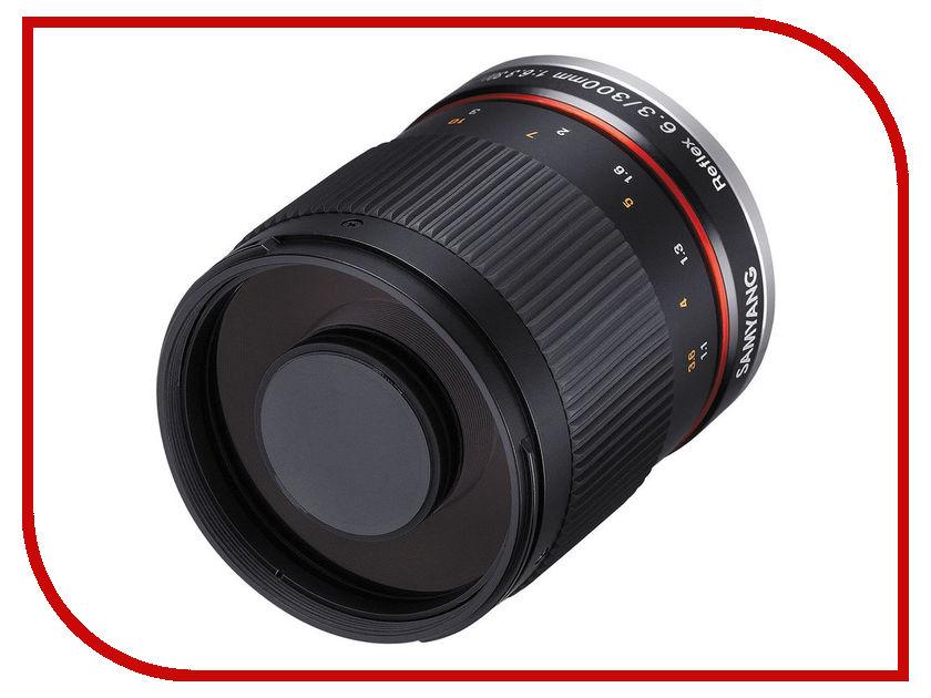 Объектив Samyang Canon EF 300 mm F/6.3 ED UMC CS Reflex Mirror Lens