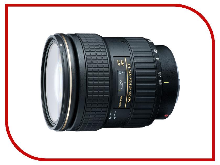 Объектив Tokina Canon AT-X 24-70 mm F/2.8 PRO FX