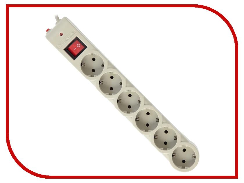 Сетевой фильтр Defender DFS 605 6 Sockets 5.0m 99408 сетевой фильтр defender dfs 601 6 sockets 1 8m 99406