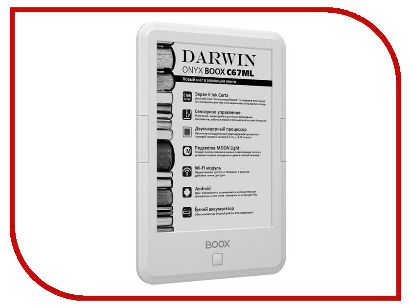 Электронная книга Onyx Boox C67ML Darwin White<br>