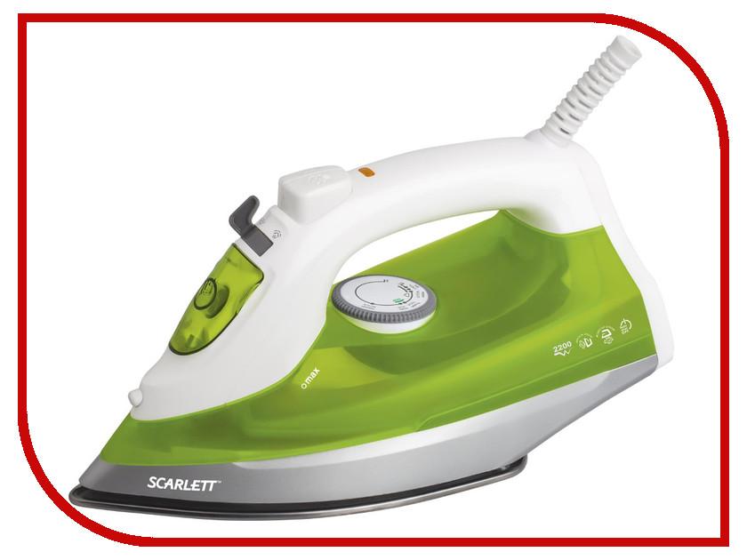 Утюг Scarlett SC-SI30S04 White-Green масляный радиатор scarlett sc oh67b03 9 black