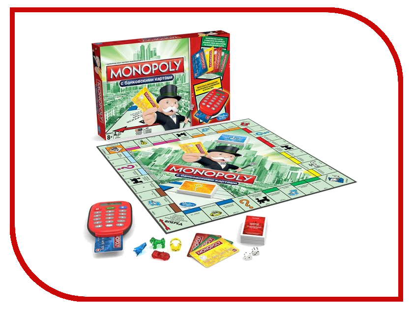 Игрушка Hasbro Монополия A7444121<br>