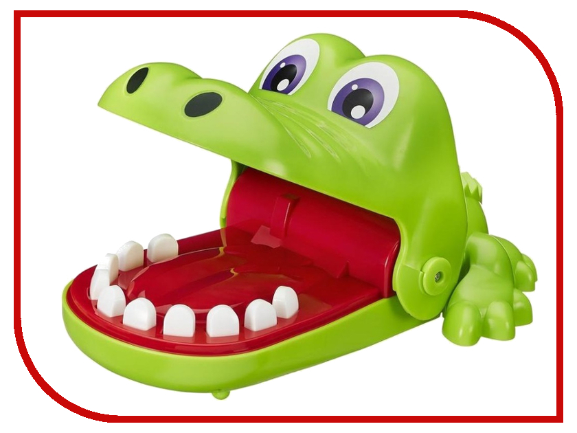 Игрушка Hasbro Крокодильчик Дантист B0408<br>
