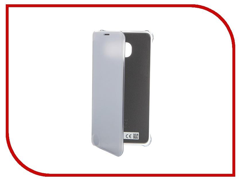 Аксессуар Чехол Samsung SM-G928 Galaxy S6 Edge+ View Silver EF-ZG928CSEGRU<br>