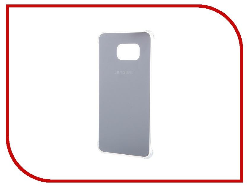 Аксессуар Чехол-накладка Samsung SM-G928 Galaxy S6 Edge+ Glossy Cover Silver EF-QG928MSEGRU аксессуар чехол накладка samsung sm g925 galaxy s6 edge protective cover mint ef yg925bmegru