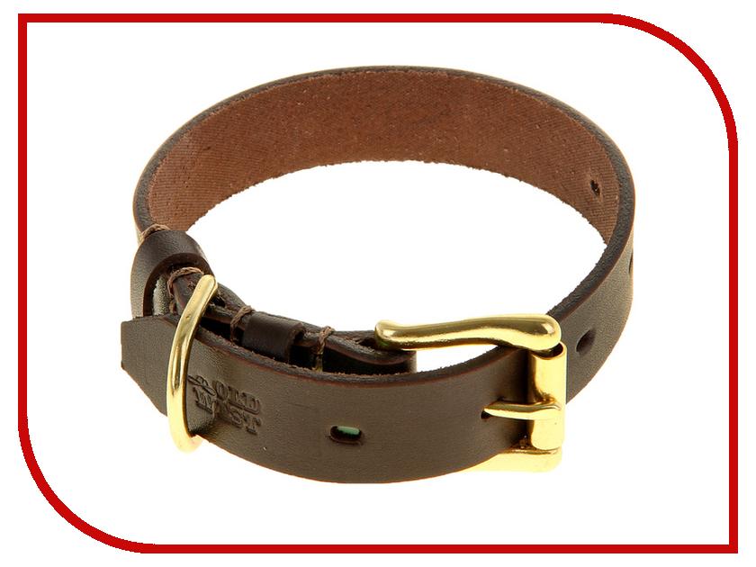 Ошейник СИМА-ЛЕНД Б-010 Brown 1037706