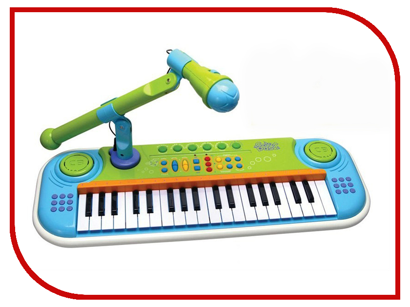 Детский музыкальный инструмент Potex Синтезатор Color Base Б39638