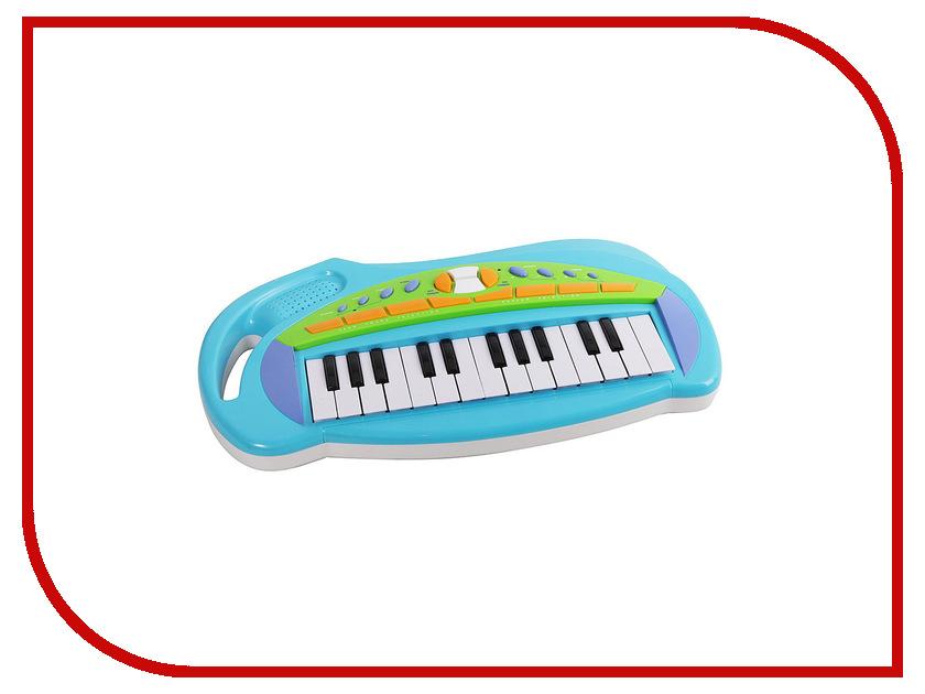 Детский музыкальный инструмент Potex Синтезатор Music Station Blue Б48719