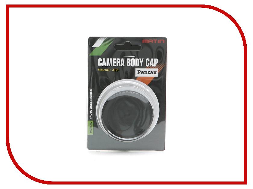 Аксессуар Заглушка на фотоаппараты Pentax Matin Body Cap M-5982<br>