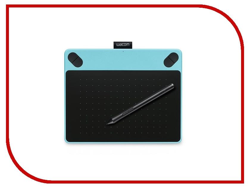 Графический планшет Wacom Intuos Comic PT S Mint-Blue CTH-490CB-N wacom intuos photo pt s black графический планшет cth 490pk n