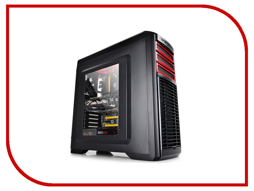 Корпус DeepCool Kendomen Black-Red