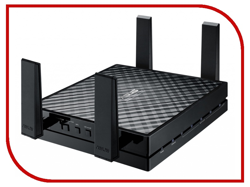 Wi-Fi роутер ASUS EA-AC87 wi fi роутер asus rt ac88u