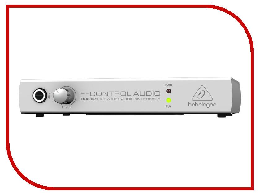Аудиоинтерфейс Behringer FCA202 mic2200 behringer