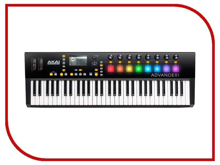 MIDI-клавиатура AKAI pro Advance 61 cyclops advance