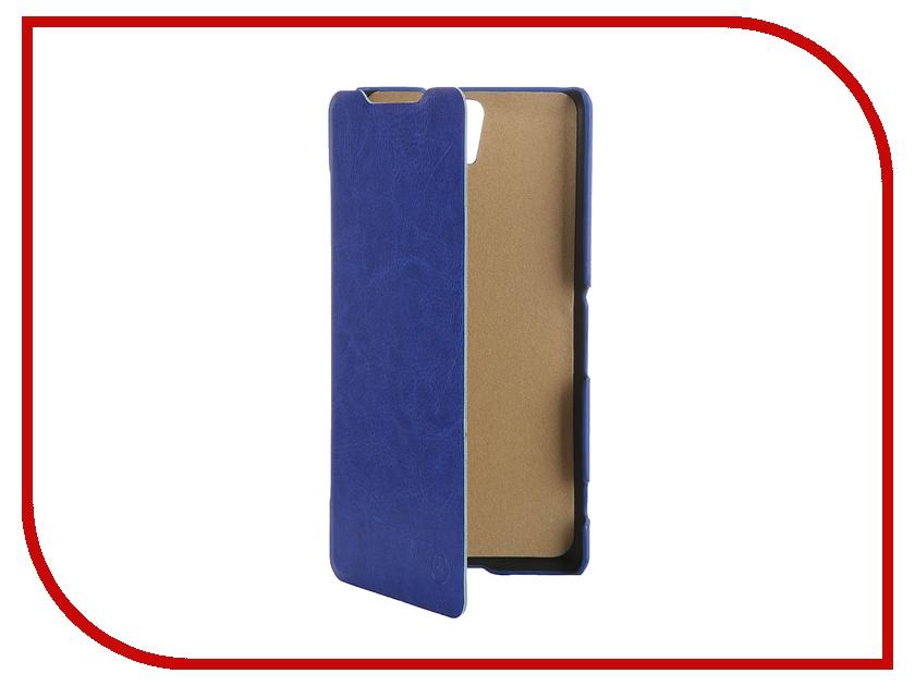 Аксессуар Чехол Sony Xperia C5 Ultra Dual Pulsar Shellcase Blue PSC0775<br>