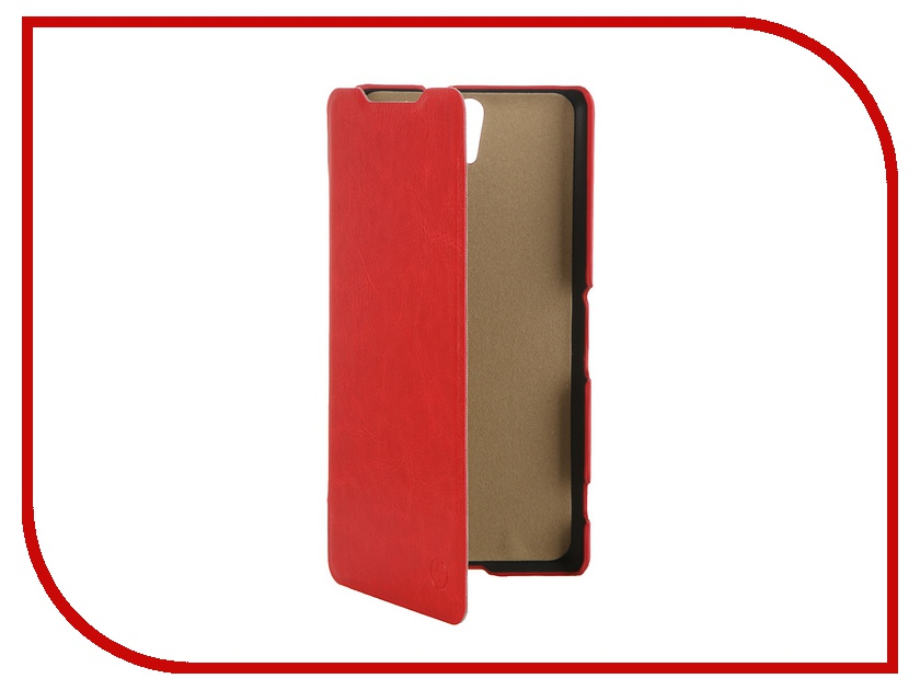 Аксессуар Чехол Sony Xperia C5 Ultra Dual Pulsar Shellcase Red PSC0774<br>