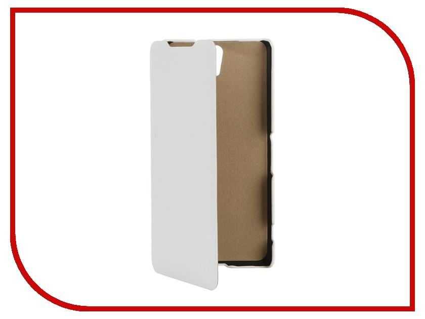 Аксессуар Чехол Sony Xperia C5 Ultra Dual Pulsar Shellcase White PSC0762<br>