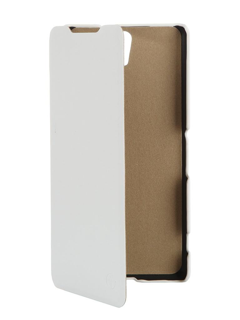 Чехол-флип PULSAR SHELLCASE для Samsung Galaxy A5 2016 (белый)
