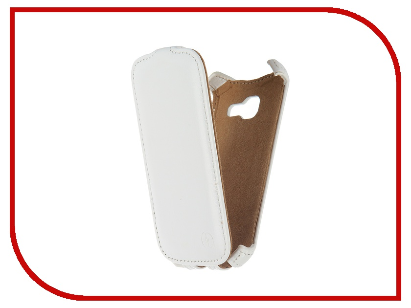 ��������� ����� Samsung Galaxy Star Plus S7262 Pulsar Shellcase White PSC0485