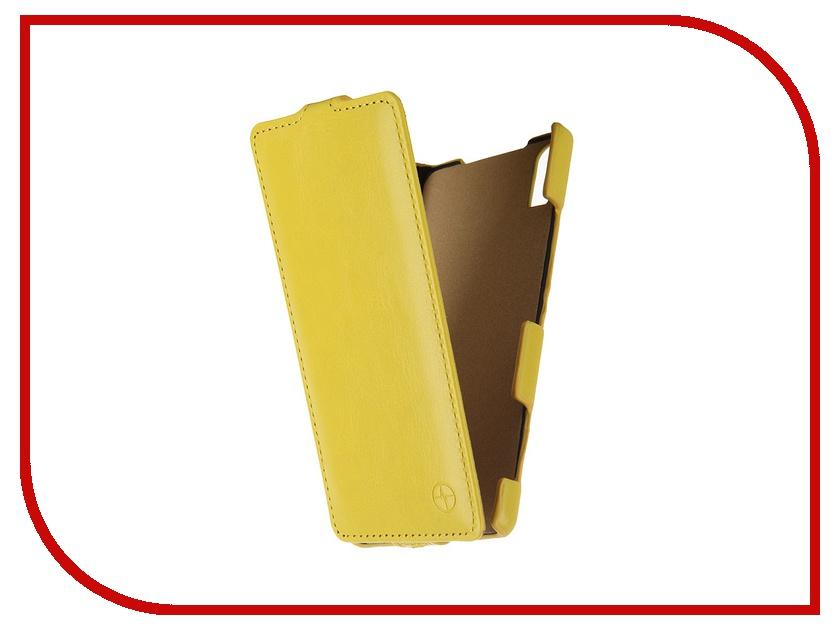 Аксессуар Чехол Lenovo Vibe Shot Pulsar Shellcase Yellow PSC0767<br>